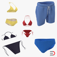 3d bathing suits 2