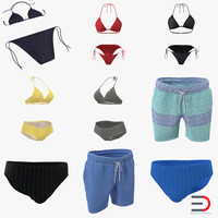 3d bathing suits bikini