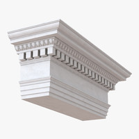 Ionic Architrave and Frieze Greco Roman