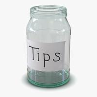 3d tip jar
