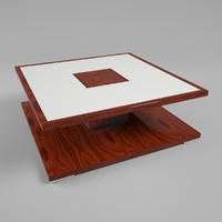3d jendycarlo j102-04 coffee table