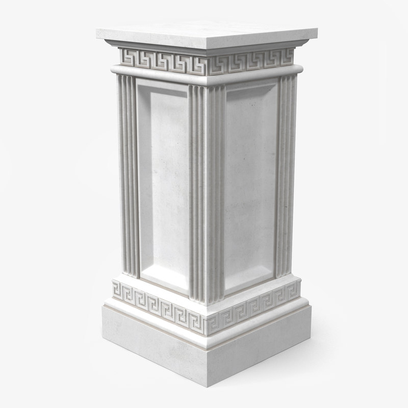 Stone Column Base : D column base greco roman