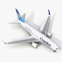 boeing 767 200er condor 3d 3ds