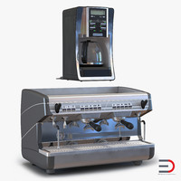 Coffee Machines 3D Models Collection