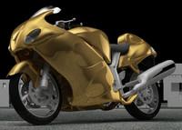 motorcycle c4d