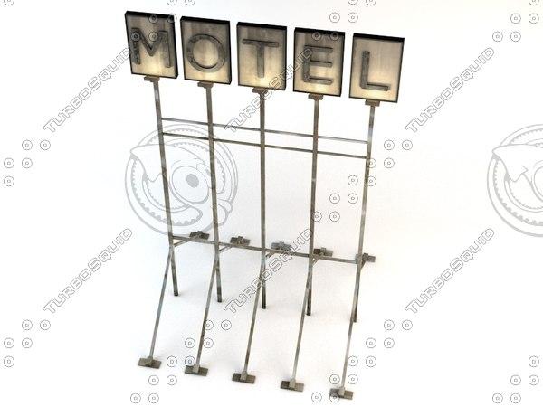 3d motel v1 model