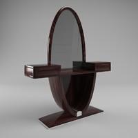 3d jendycarlo a6-03 dressing table model