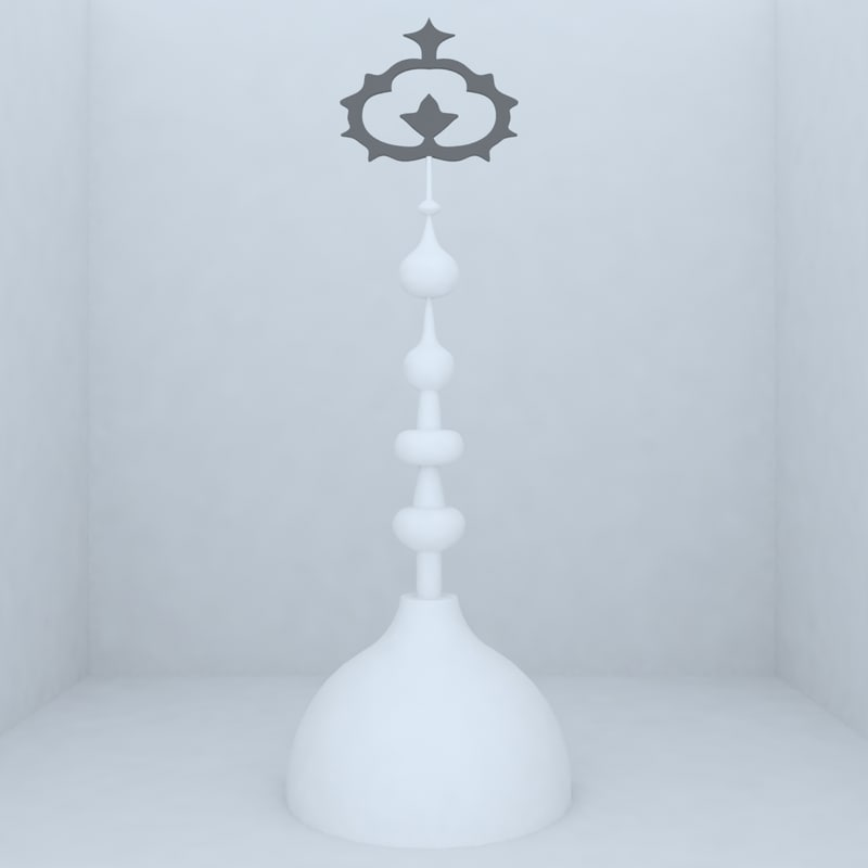 3d model of mosque design