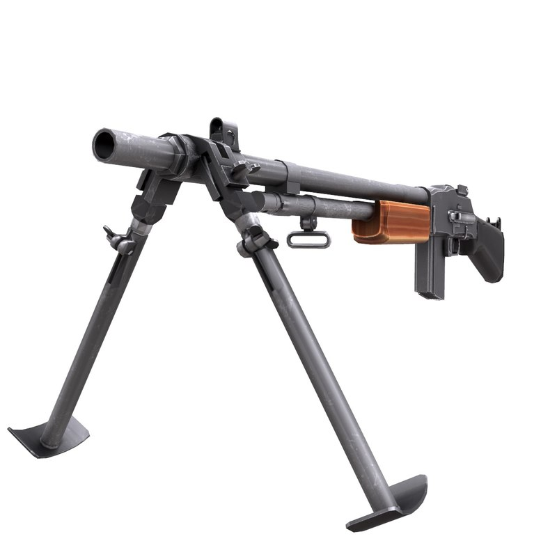 3d m1918 browning automatic rifle