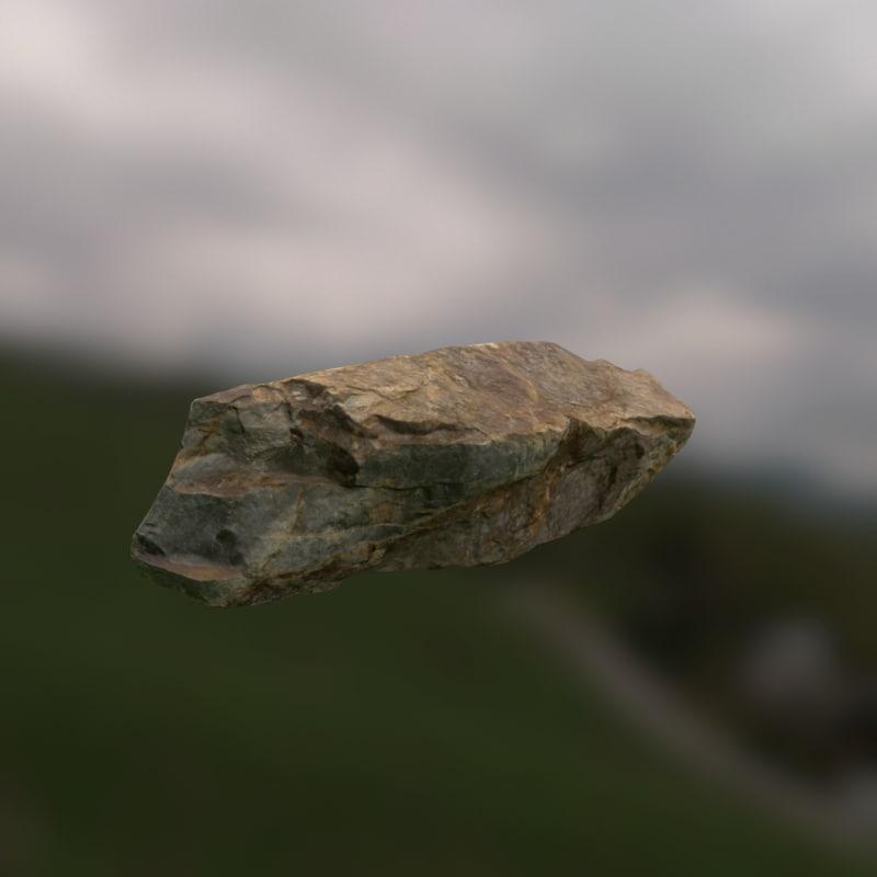 3d rock model