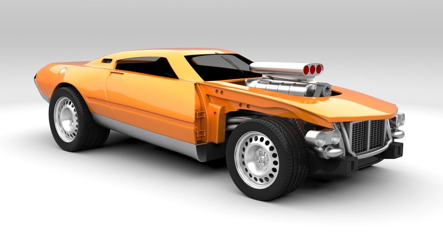 3d hot wheels project