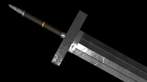 sword greatsword great 3d model