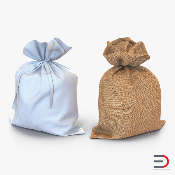 sack bag 3d model
