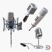 3d studio microphones