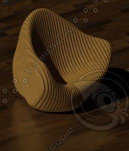 parametric chair dwg
