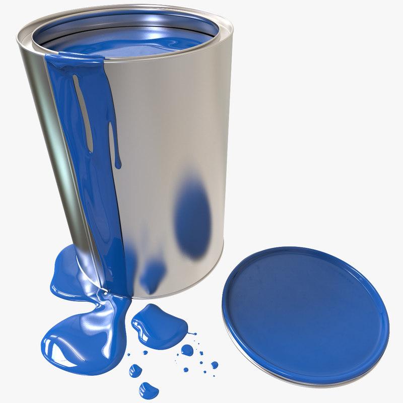 3d paint container flow