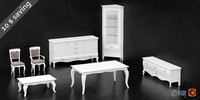 dall agnese furniture set 3d max