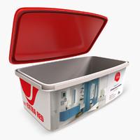 3d paint container