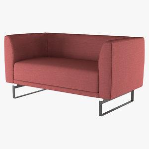 sofa tailor la cividina 3d max