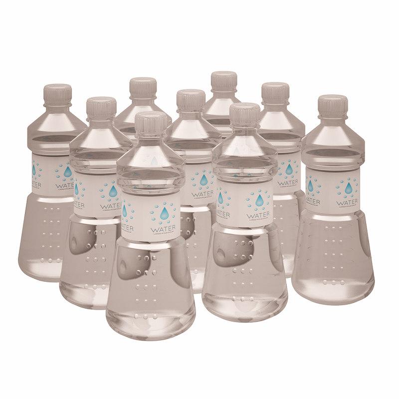 3d model of water bottle