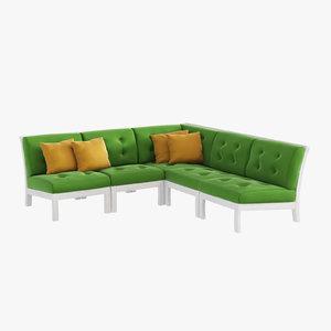 free 3ds mode outdoor furniture sofa interior