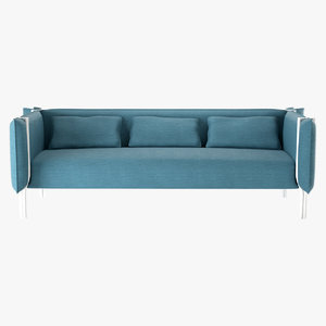3d model sofa pinch la cividina