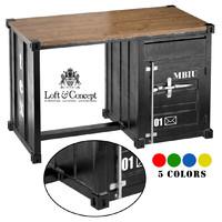 3d model metal oak sea container