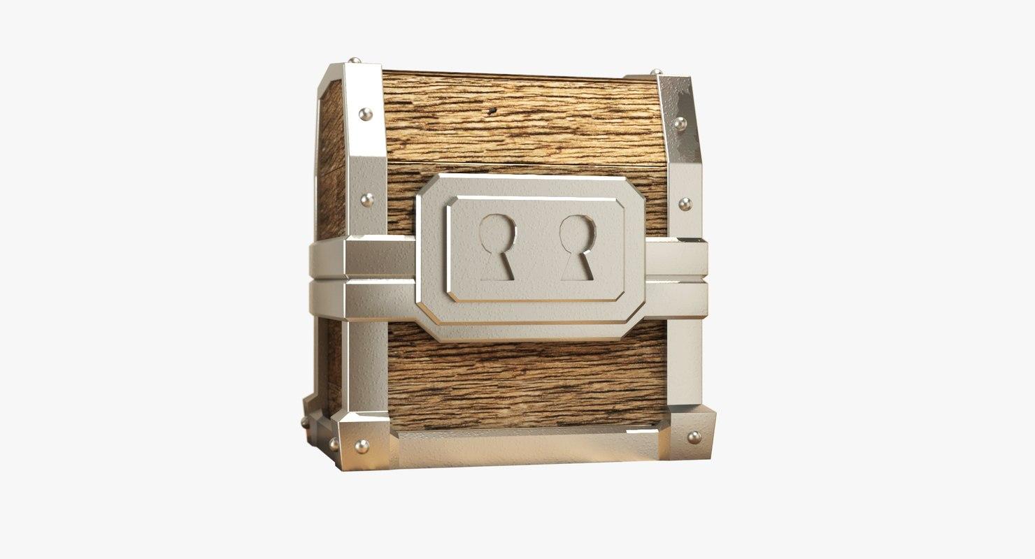 3d model clash giant chest