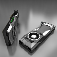 3d model nvidia geforce gtx 1080