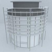 3d frontage door model