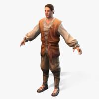 Medieval Peasant Male