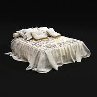 bedclothes 11 3d dwg