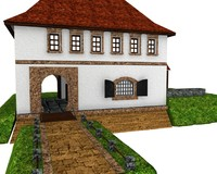 varazdin old fortress citadel 3d 3ds