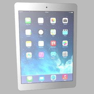 3d model of apple ipad air