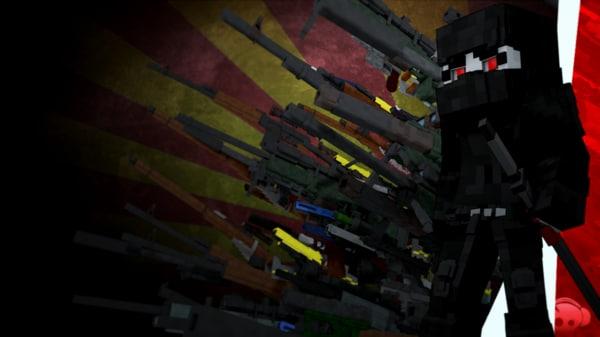 3d model gun pack: assasin