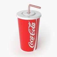 3d coca cola coca-cola model
