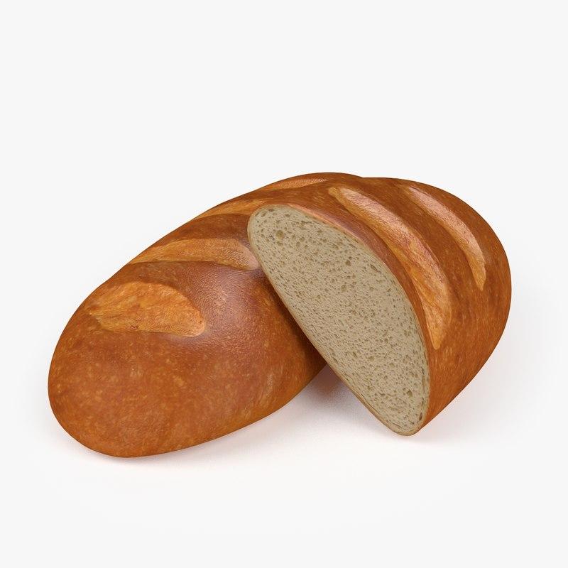 3d model loaf