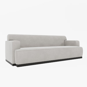 3d louise bradley oxford sofa model