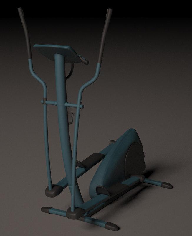 3d model trainer exercise machine