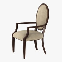 Nancy Corzine Oval Back Arm & Side chair