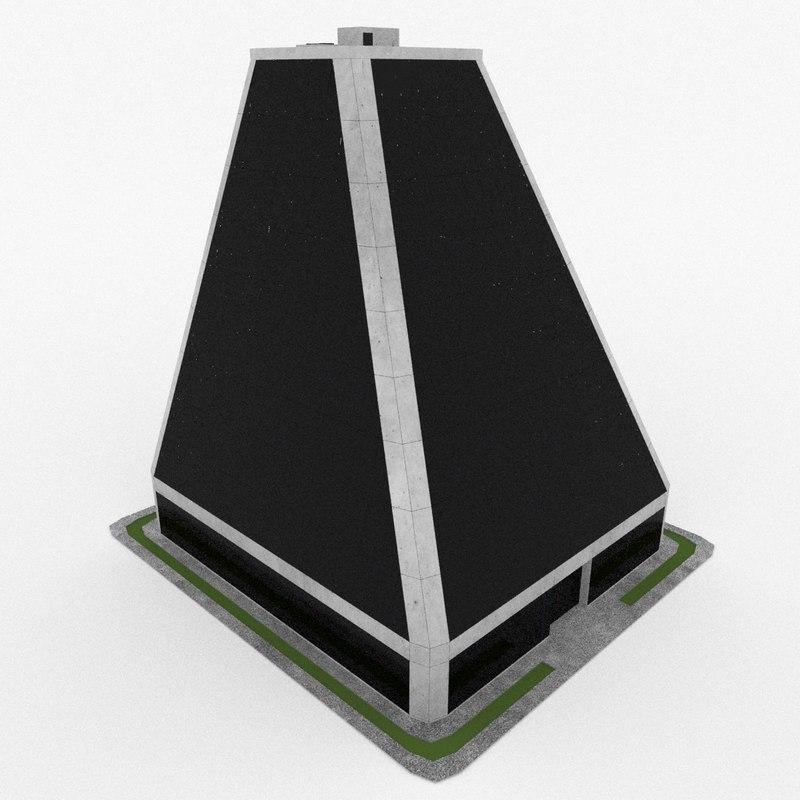 office build 3d max
