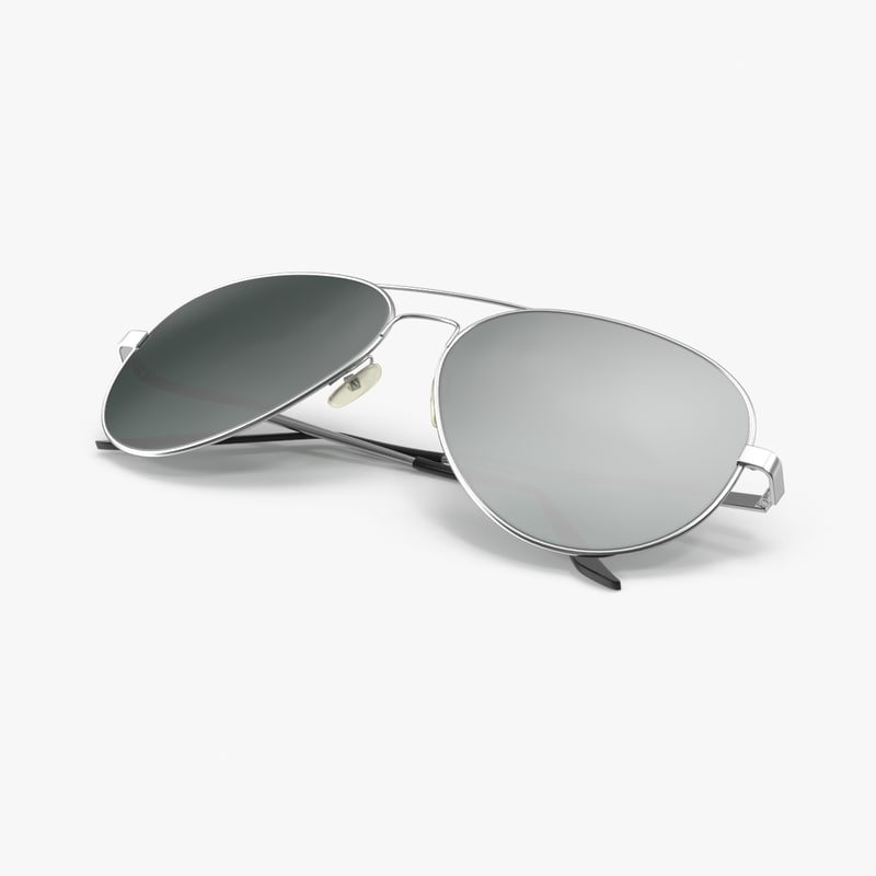 sunglasses folded 3d max