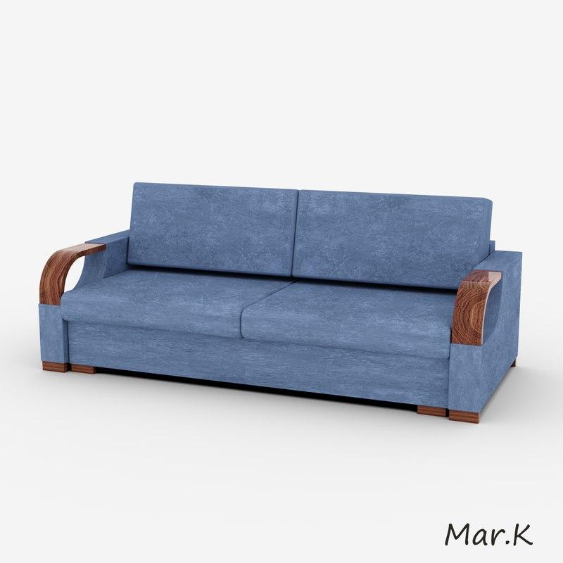 3d sofa karina model