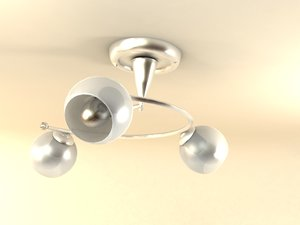 3d chandelier old style