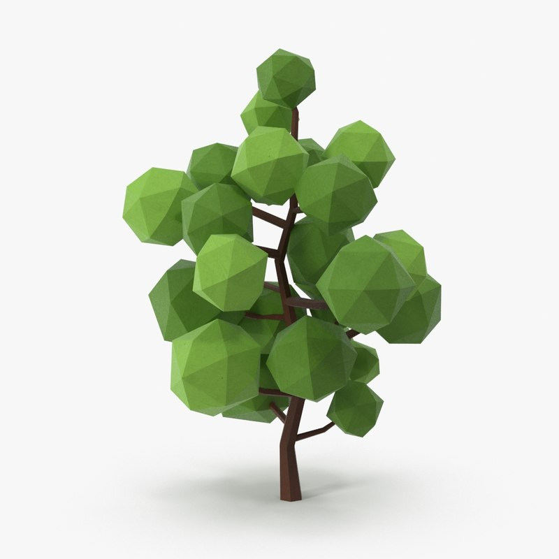 leafy tree 1 3d max
