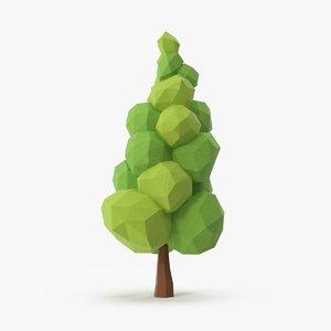 leafy tree 3 3d model