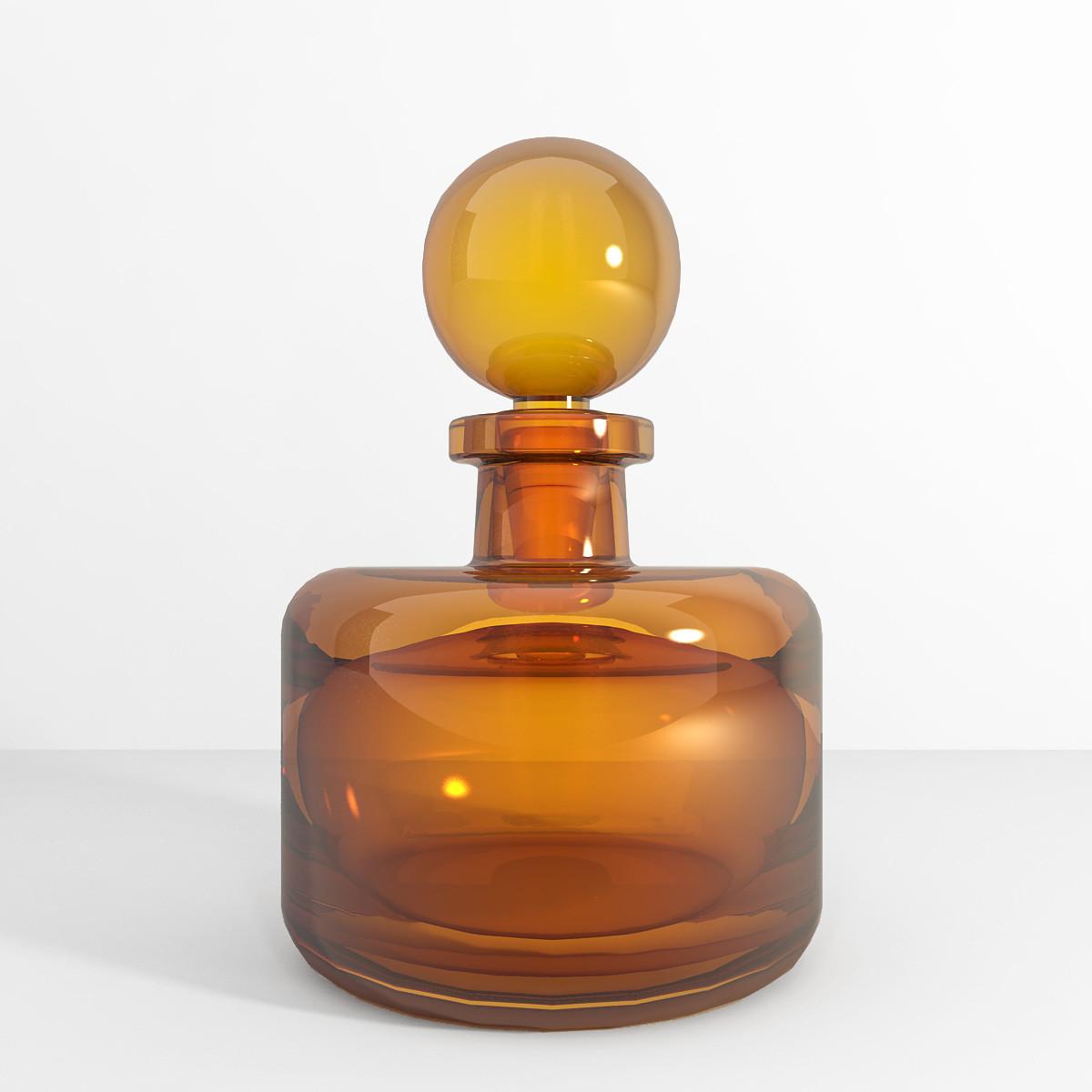 bottle color 3d model