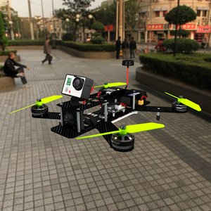 3d lumenier 250 drone gopro