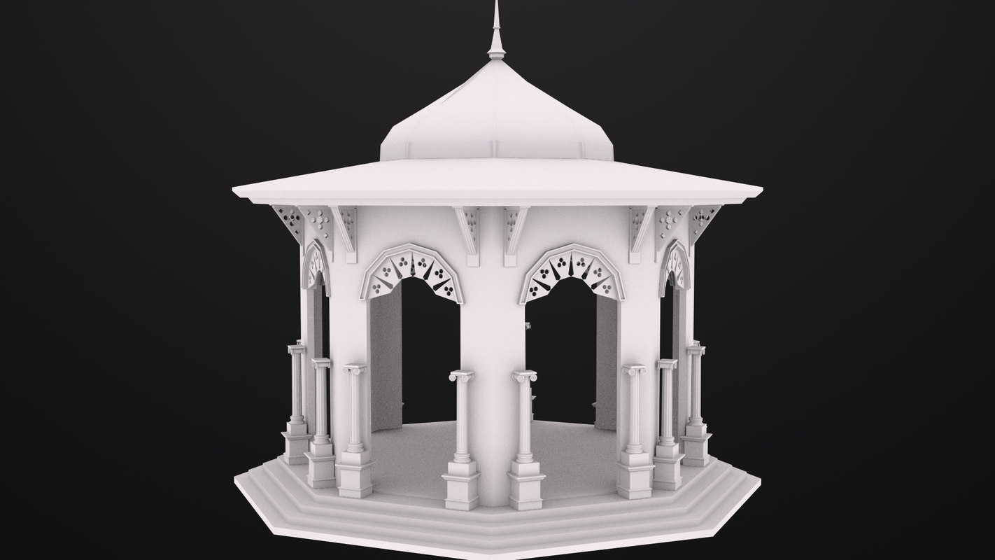 bandstand perfect 3d model