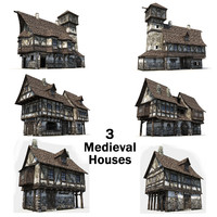 3 Medieval Houses